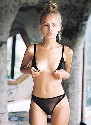 Girl nude petite Nude Dresses